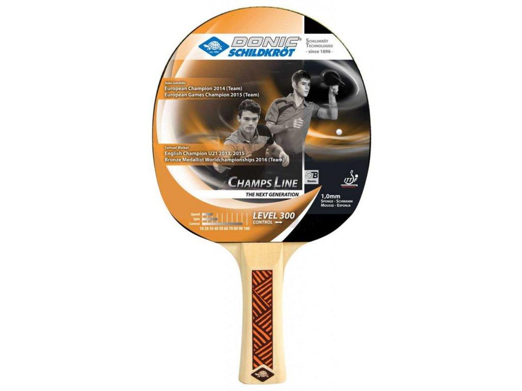 Pálka na stolní tenis DONIC 300