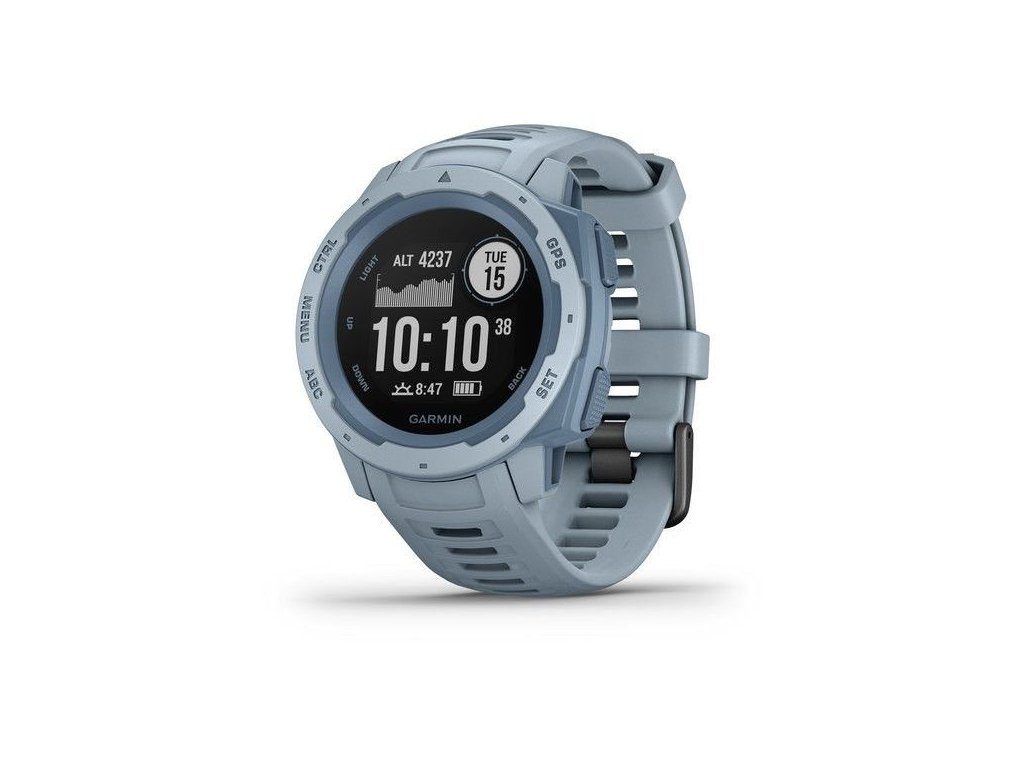 339 garmin instinct light blue optic
