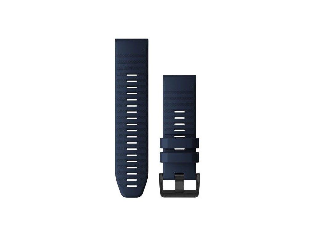 636 reminek pro quatix6x quickfit 26 silikonovy tmave modry cerna prezka