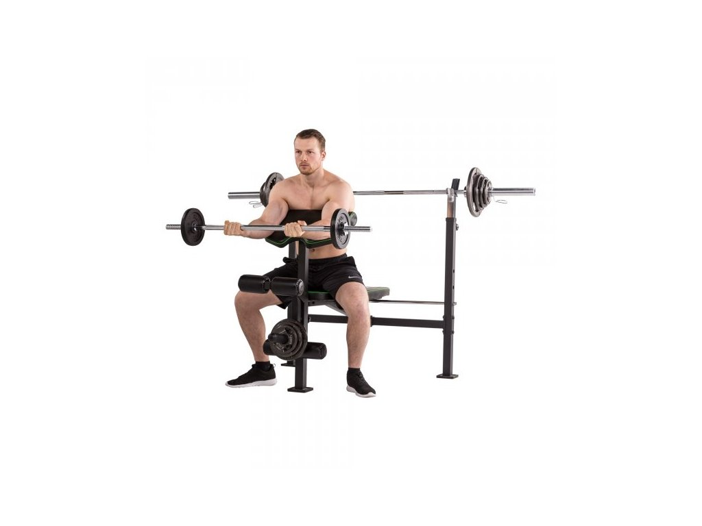 Posilovací lavice TUNTURI WB60 Olympic Width Weight Bench