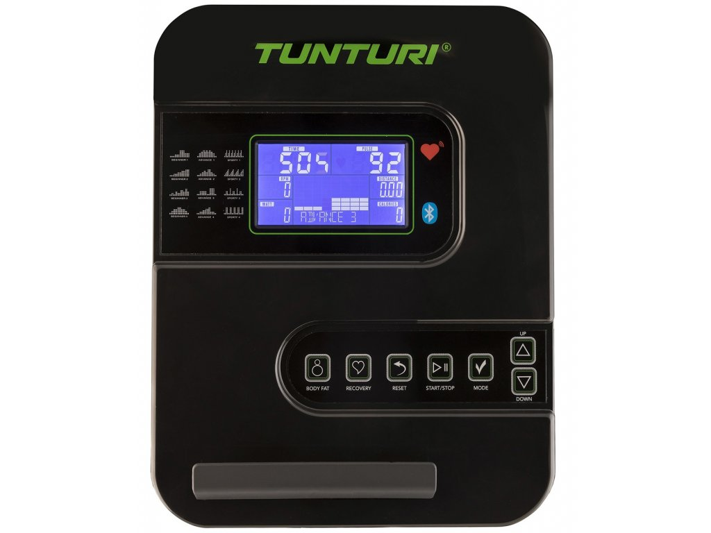Eliptický trenažér TUNTURI StarFit C100 HR  + Servis u zákazníka + Podložka pod trenažer ZDARMA