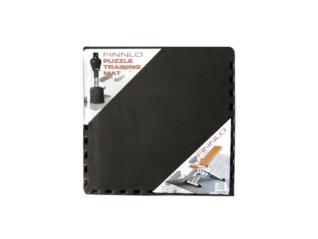 Podložka FINNLO Puzzle Mat černá 190 x 130 x 1.2 cm (6 dílů)