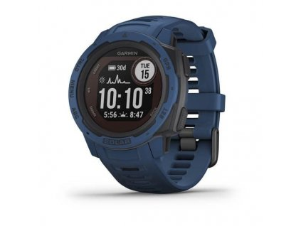 357 garmin instinct solar blue optic