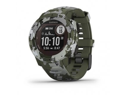 372 garmin instinct solar camo green optic