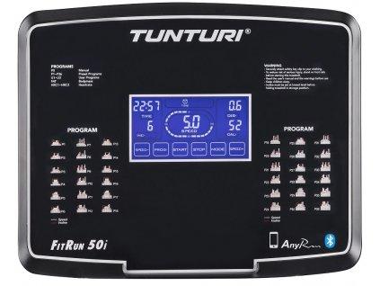 Běžecký pás TUNTURI Fitrun 50i  + Servis u zákazníka a prodloužená záruka + Podložka pod trenažer ZDARMA