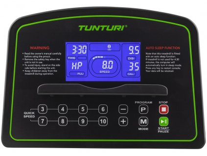 Běžecký pás TUNTURI Cardio Fit T35  + Servis u zákazníka + Podložka pod trenažer ZDARMA