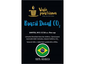 Brazil bezkofeinová