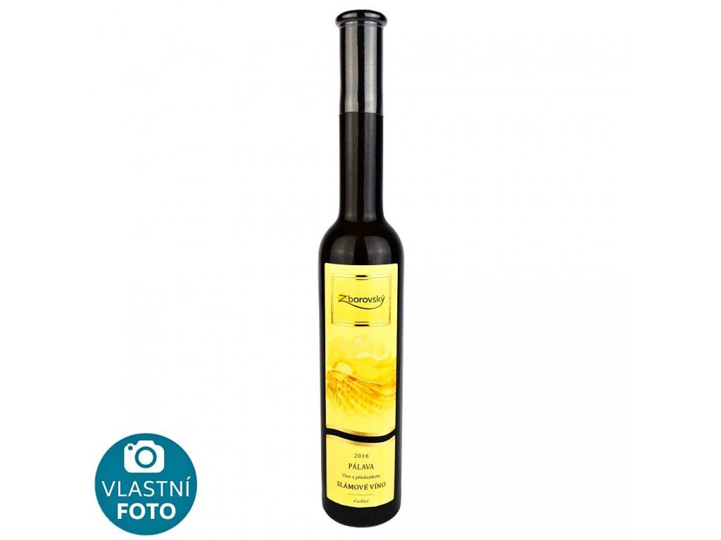 Pálava slámové víno 2016 - 0,2 l - vinařství Zborovský