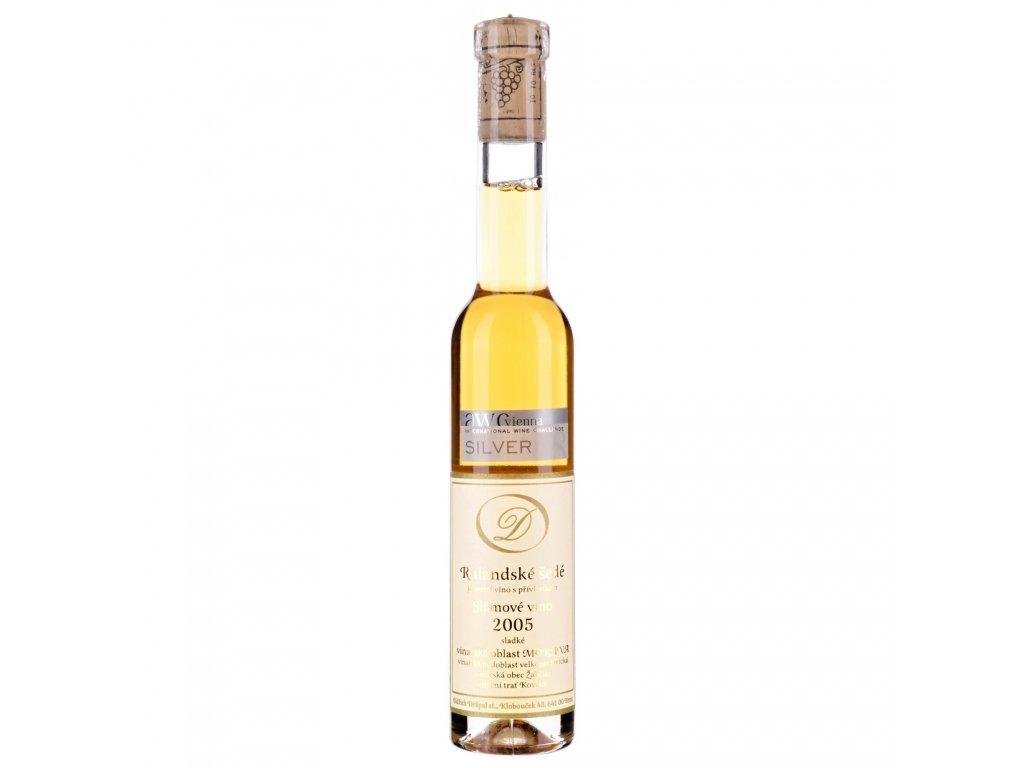 rulandske sede 2005 slamove vino drapal 1