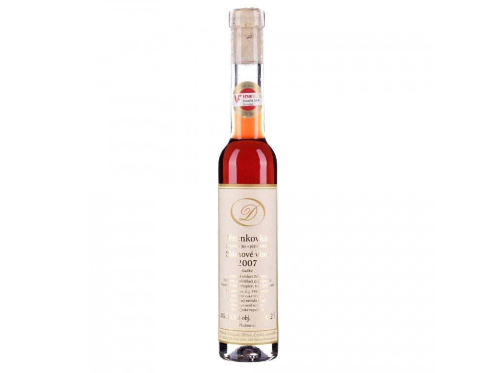 frankovka 2007 slamove vino drapal 1
