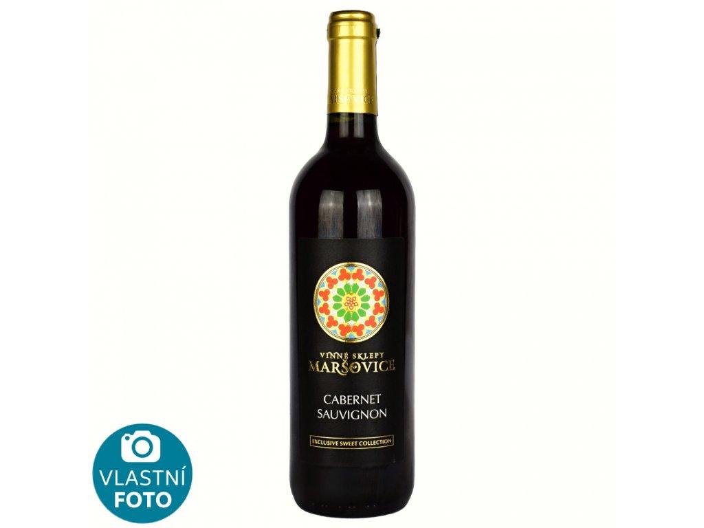 Cabernet Sauvignon Exclusive sweet 2018 - 0,75 l - sladké - Vinné Sklepy Maršovice