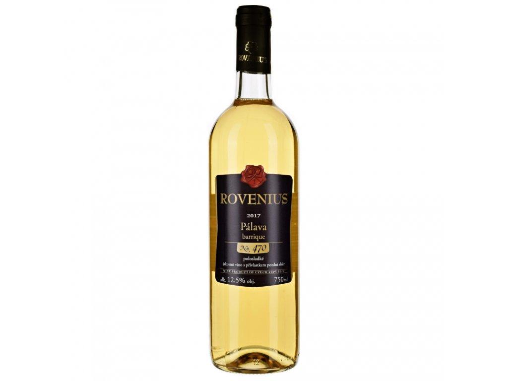Pálava pozdní sběr barrique 2017 - 0,75 l - vinařství Rovenius