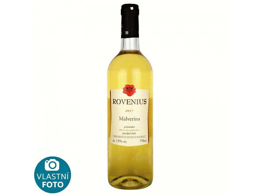Malverina pozdní sběr 2017 - 0,75 l - vinařství Rovenius