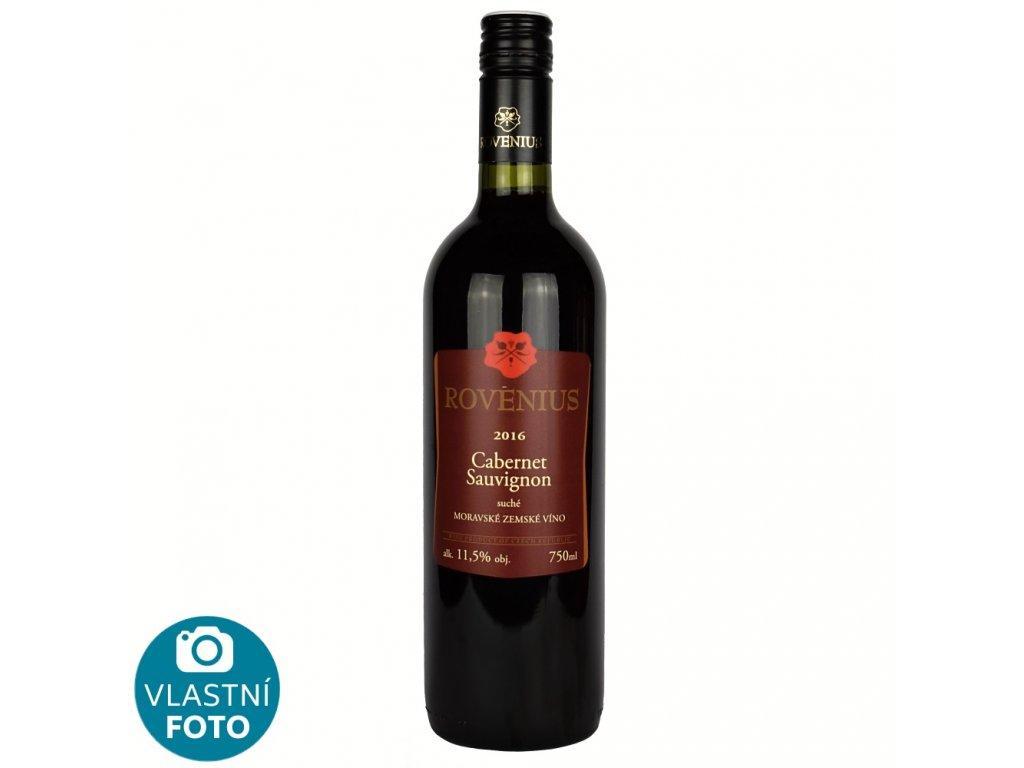 Cabernet Sauvignon zemské 2016 - 0,75 l - vinařství Rovenius