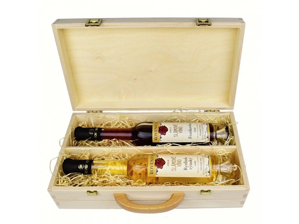 Dárkové balení 2 slámových vín - Rovenius - 0,2 l