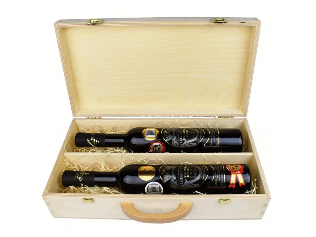 Dárkové balení dvou ledových vín - 0,375 l - Vinařství Krist