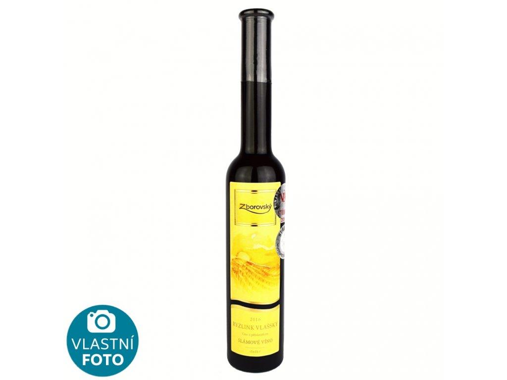 Ryzlink vlašský slámové víno 2016 - 0,2 l - vinařství Zborovský