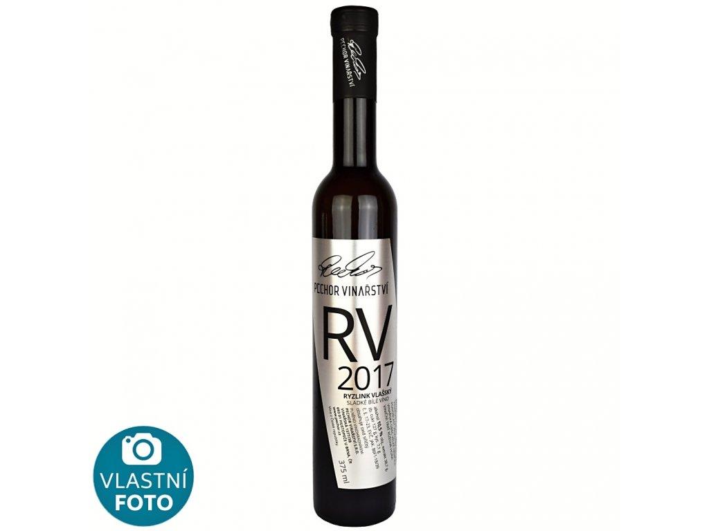Ryzlink vlašský Výběr z cibéb botrytický sběr 2017 - 0,375 l - vinařství Pechor