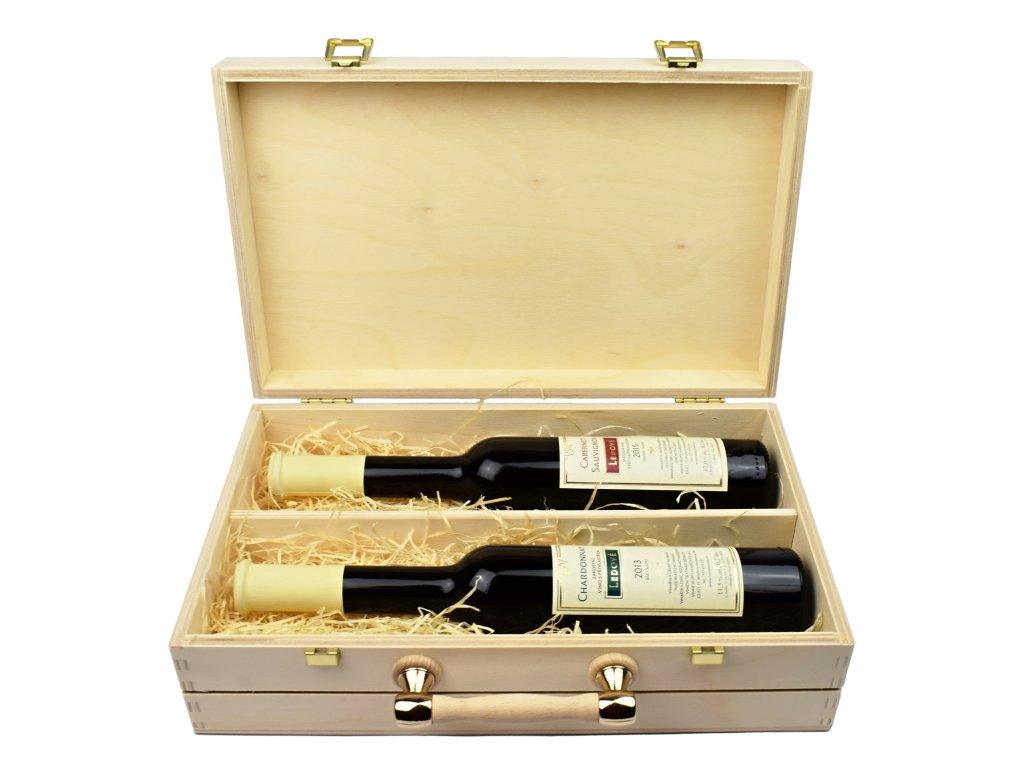 darkovy kufr s ledovymi viny