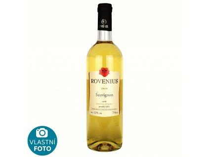 Sauvignon pozdní sběr 2018 - 0,75 l - vinařství Rovenius