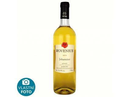Johaniter pozdní sběr 2018 - 0,75 l - vinařství Rovenius