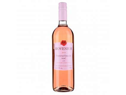 Svatovavřinecké rosé moravské zemské 2018 - 0,75 l - vinařství Rovenius