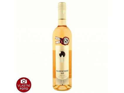 Rulandské modré rosé pozdní sběr 2016 - 0,75 l - vinařství Plaček