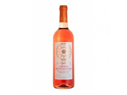 cabernet sauvignon rose 2016 zemske vinne sklepy marsovice