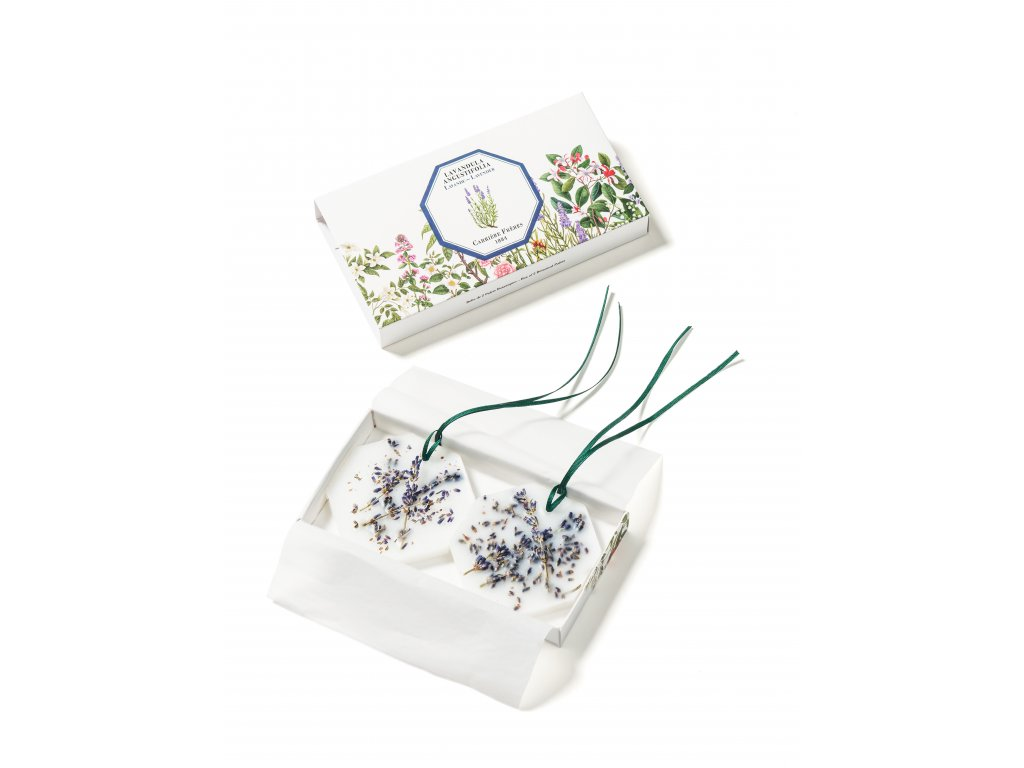 Carrière Frères Lavender botanical palets + box HD