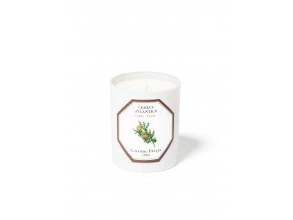 Carrière Frères Cedar candle Low Res