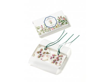 Carrière Frères Damask Rose botanical palets + box HD
