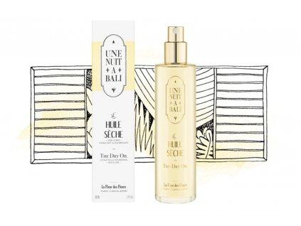 the dry body oil