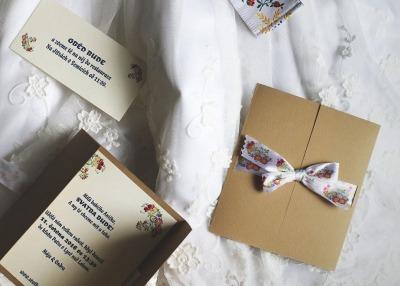 Svatební oznámení – Martina & Ondřej