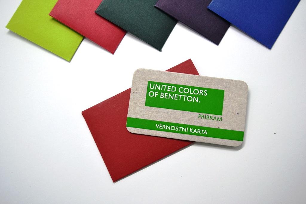 Benetton - věrnostní karta