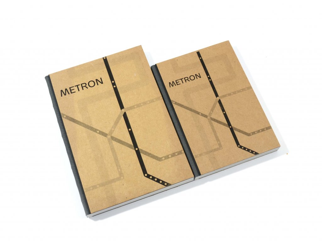Metron, zápisník, <A5, <A6
