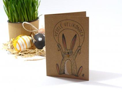Velikonoční přání – ručně malovaná