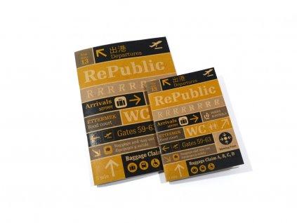 Republic - Sešit