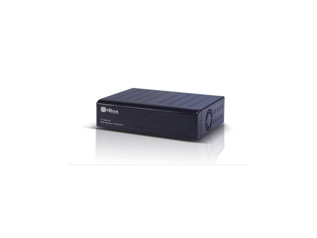 V@Box XTi-3331 (DVB-S2 + DVB-S) DVB-S do domácí sítě, na PC, SmartTV, mobily.