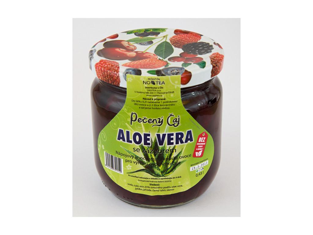 Pečený čaj aloe vera se zázvorem 430 ml