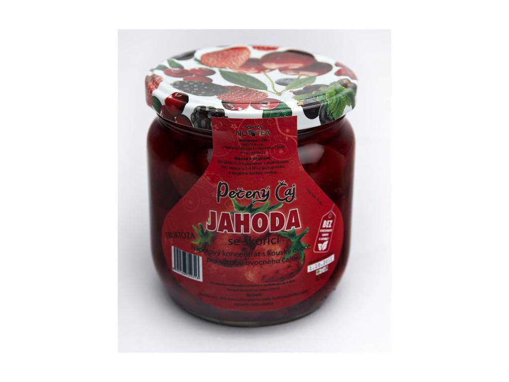 Pečený čaj jahoda se skořicí 430 ml