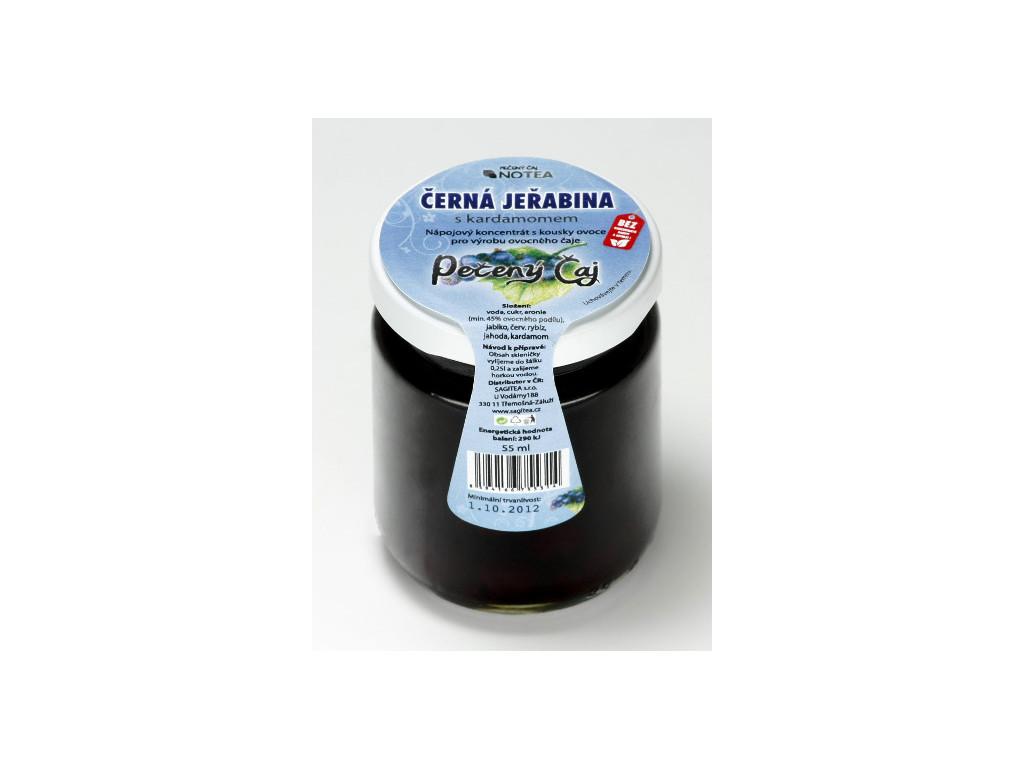 Pečený čaj arónie (černá jeřabina) s kardamomem 60 ml