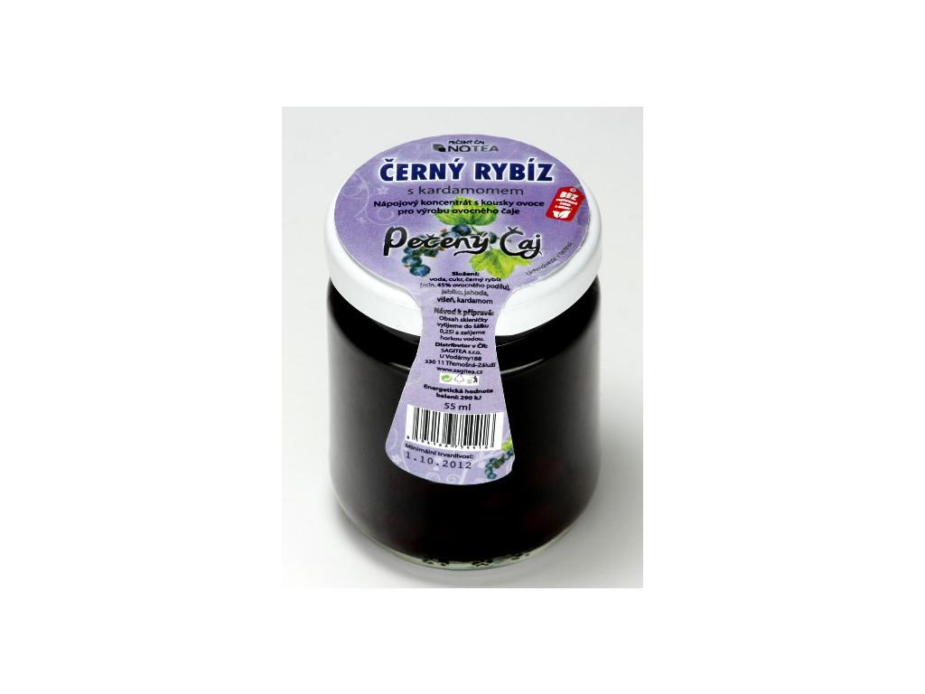Pečený čaj černý rybíz s kardamomem 60 ml