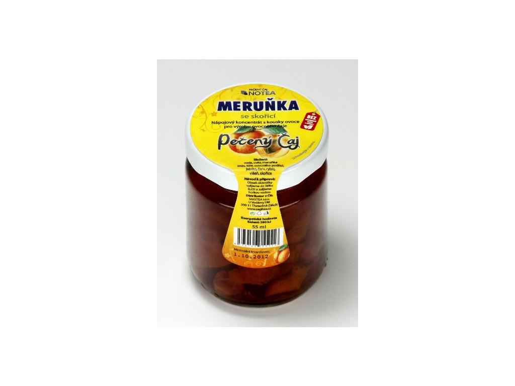 Pečený čaj meruňka se skořicí 60 ml