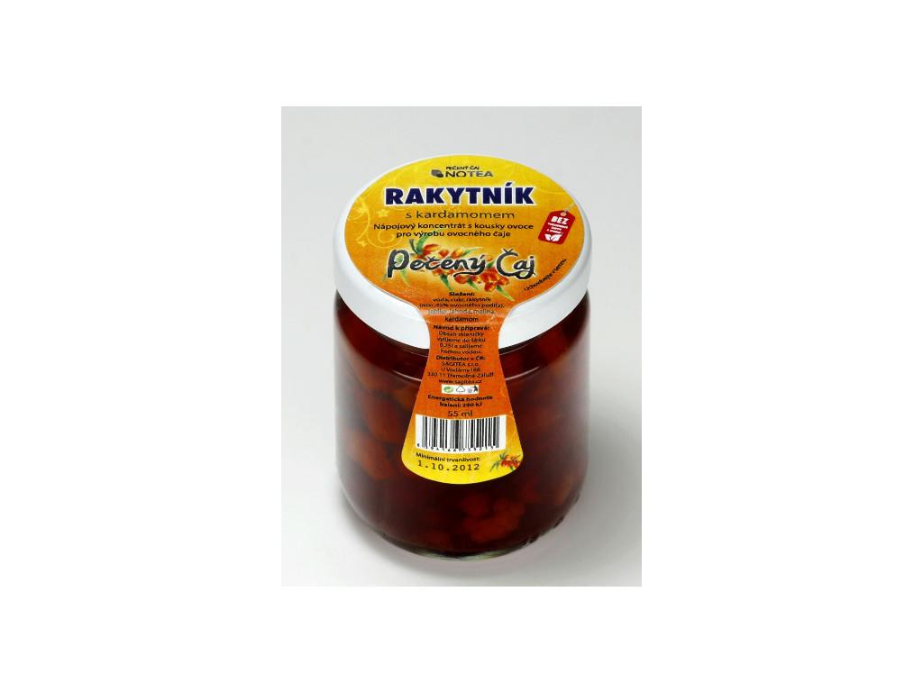 Pečený čaj rakytník s kardamomem 60 ml
