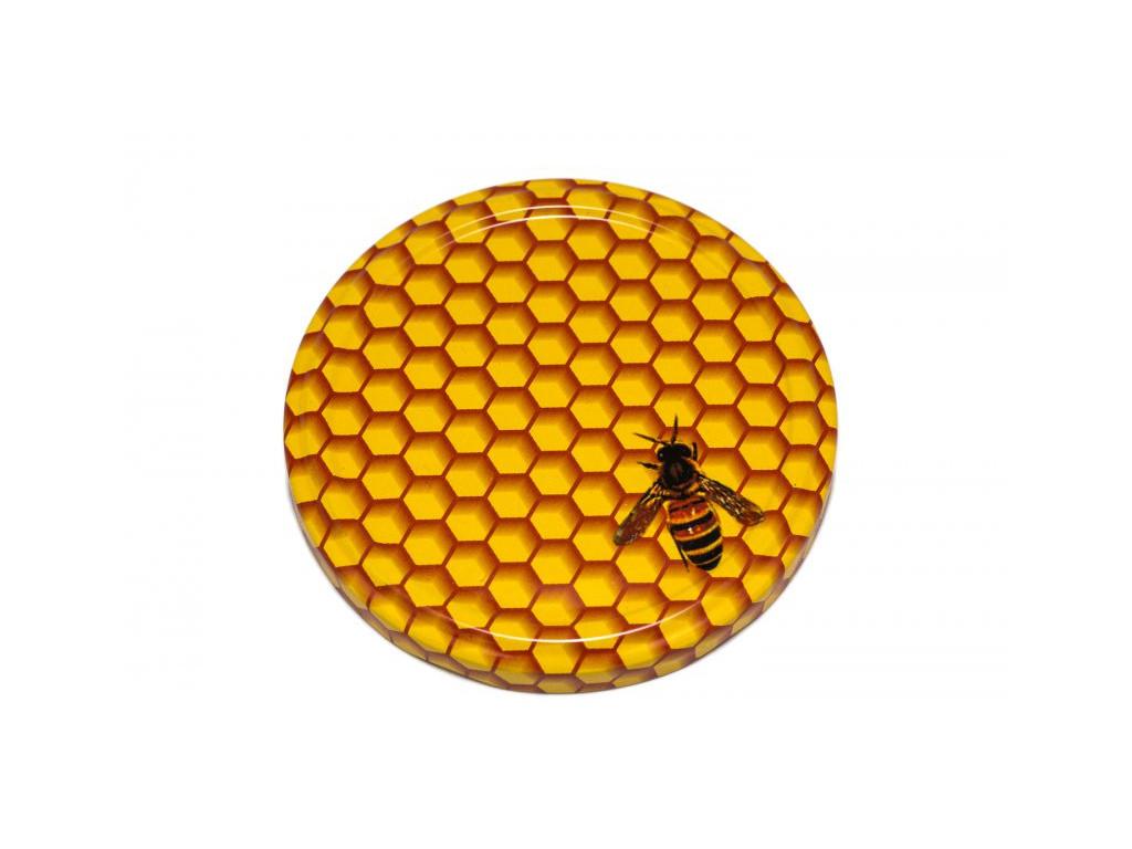 Víčko TO 82 včela malovaná
