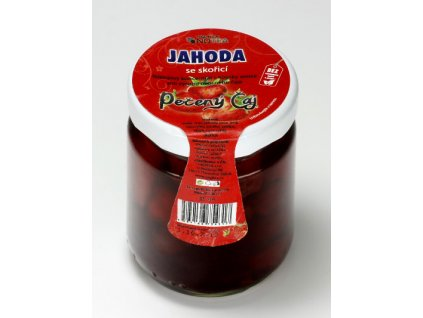 Pečený čaj jahoda se skořicí 55 ml