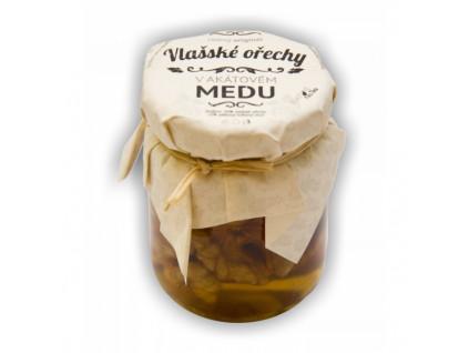 Akátový med s vlašskými ořechy 55ml