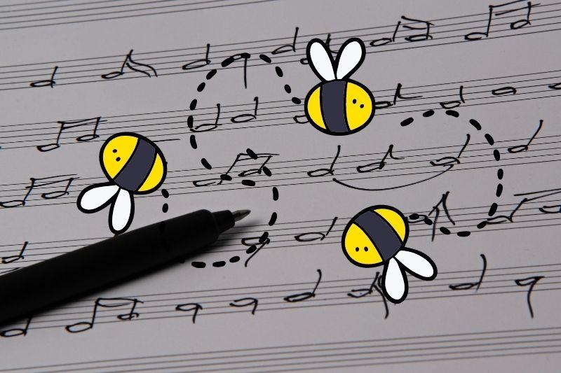 Včely, med a hudba