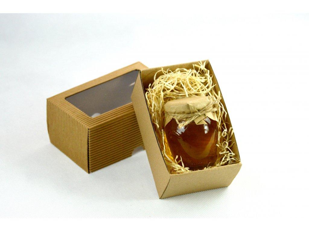 Lesní med 195g v dárkové krabičce