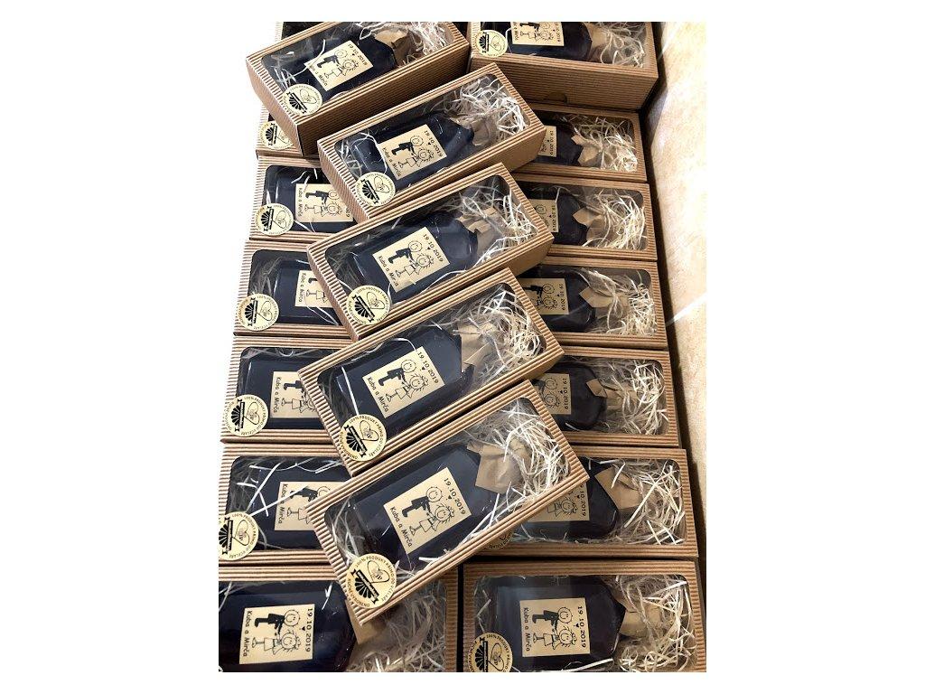 Medovina 100ml svatební v krabičce